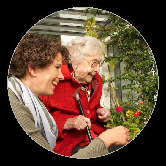 Die Seniorenbetreuung umfass auch das gemeinsame Ausflüge.